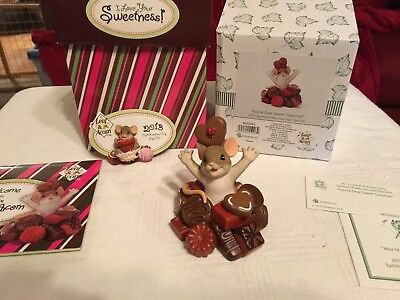 "Charming Tails ""YOU'RE ONE SWEET Surprise"" DEAN GRIFF NIB WITH PIN"
