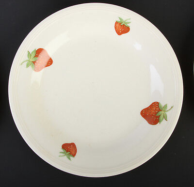 "7-Vintage Edwin Knowles Strawberry Bread Plates ... 7.25""."