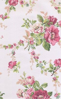"AK7403 Ash.H. Blooms Victorian Garden Wallpaper Double Roll 20.5"" x 33' by York"