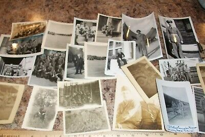 World War Two Photo Lot US Army original photos