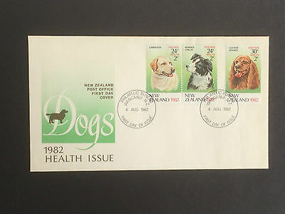 1982 New Zealand Health Miniature Sheet stamps + First Day Cover as purchased