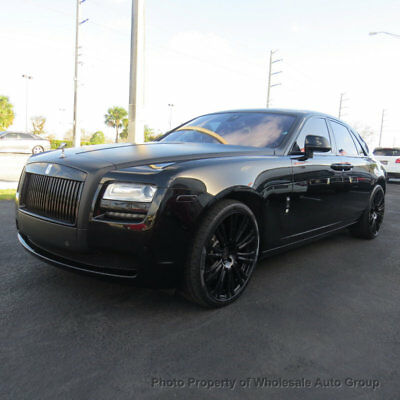 2013 Rolls-Royce Ghost 4dr Sedan LIKE NEW. ONLY 10K MILES.  CARFAX CERTIFIED . CALL 954-744-1177