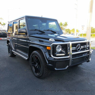 2013 Mercedes-Benz G-Class G63 AMG 4MATIC MINT CONDITION. PERFECTLY SERVICED. LOADED WITH OPTIONS. MUST SEE