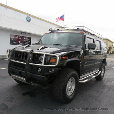 2003 Hummer H2 4dr Wagon CARFAX CERTIFIED . FULLY LOADED. MINT CONDITION. VIEW IMAGES. CALL 954-744-1177