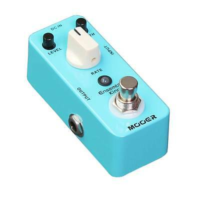 NEW MOOER AUDIO ENSEMBLE KING CHORUS EFFECTS PEDAL w/ FREE CABLE 0$ US SHIPPING