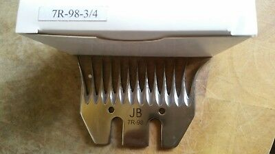 Pack of 5 -JB Professional Shearing Comb 7R-98(Wide)