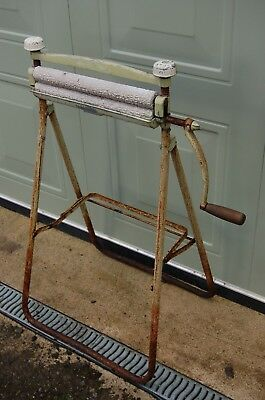 vintage mangle with stand 'fleetway'