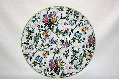 Antique English Chintz Cake Plate – Barker Bros. Pattern Lorna Doone, England