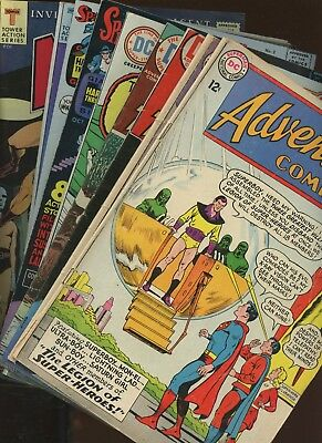 Adventure Comics 314,316,425,432,1st Issue Special 7 and more!!! * 9 Book Lot *