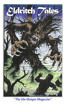New! Eldritch Tales #2 edited by Bob Price & published by Necronomicon Press!