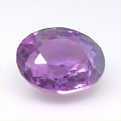 Certified Natural Unheated Pink Sapphire VS Clarity Gorgeous Color 1.65 Carats