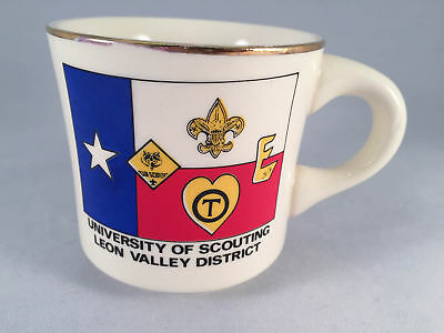 Boy Scouts Mug University Of Scouting Leon Valley District