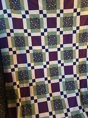 Handmade Unfinished Quilt