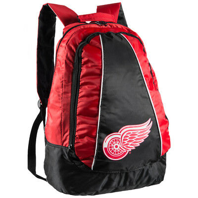Detroit Red Wings NHL Primetime Backpack Backpack Bag bpnh14prmdr Red NEW