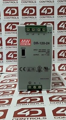 Mean Well DR-120-24 Din Rail Power Supply - Used