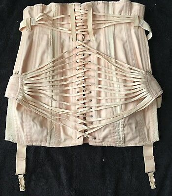 Vintage Jenyns Corset Girdle from 1950s - Double Fan Style - As New Condition