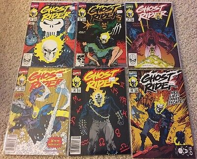 GHOST RIDER (6 Comics) #6 7 8 9 10 11  VF/NM Cond!