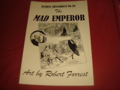 ARCHIVE ADVENTURES #16 The Mad Emperor Robert Forrest