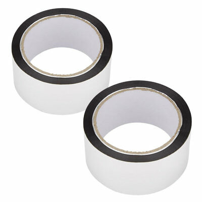 2 x Aluminium Silver Adhesive Foil Tape for use with Foil Insulation Loft Floor