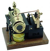 Wilesco D4 Tea Candle Steam Engine