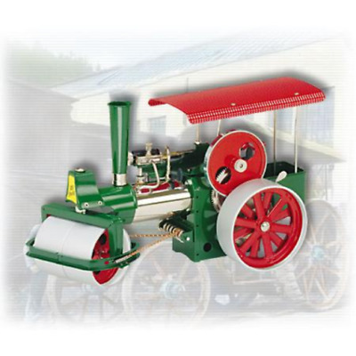 Wilesco D395 Steamroller-Old Smokey with 230cc with RC