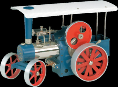 Wilesco D495 Steam Traction Engine with Radio Control