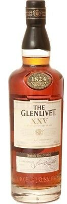 The Glenlivet '25yo XXV' Scotch Whisky (3 x 700mL)