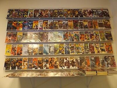 Huge Lot of 250+ Comics WOLVERINE MEGA-LOT! X-Force, Avengers+ Avg VF Condition!