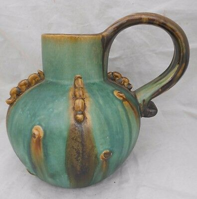 Bourne Denby Jug Tyrolean Ware By Alice Teichner Art Deco Period Height 20 cm