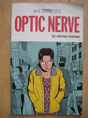 Optic Nerve #2 (2nd Printing Feb 1997) by Adrian Tomine | Drawn and Quarterly