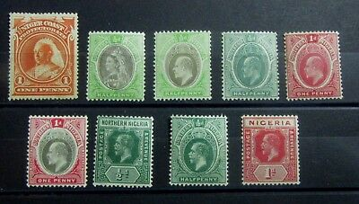 NIGERIA - British Colonies Old Stamps - Mint MH / MNH - VF - r45e4867