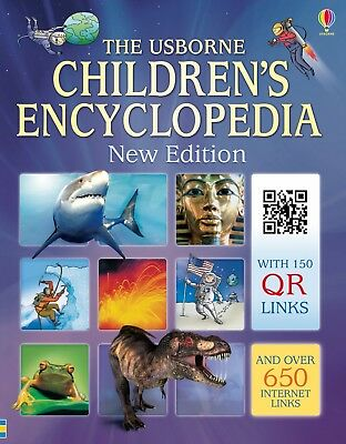 The Usborne Children Encyclopedia, New Edition, Space, Our World, History...