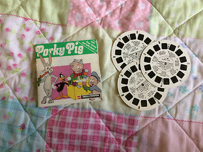 GAF View-Master 3D | Porky Pig Bugs Bunny Daffy Duck (3 Reel Set)