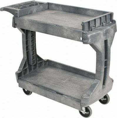 "Akro-Mils 41-1/2"" Long x 24"" Wide x 34-3/4"" High, Plastic Utility Cart"