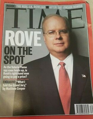 Time Magazine - July 25th 2005