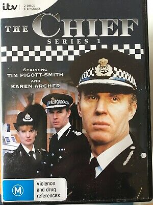 THE CHIEF - Series 1 2 x DVD Set AS NEW! Complete First Season One