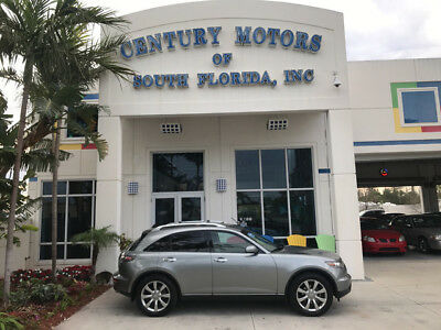 2005 Infiniti FX Base Sport Utility 4-Door Heated Seats Nav Camera Sunroof CD Changer