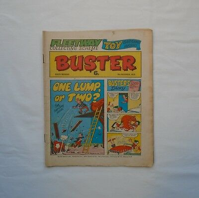 Buster Comic 8th November 1975 - Buster's Diary / Ivor & Tony / Chalky / Snooper