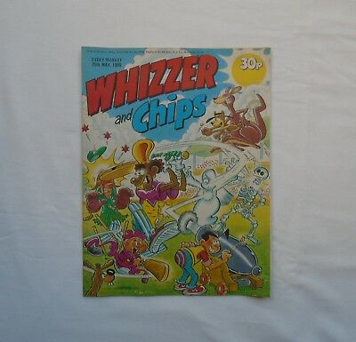 Whizzer and Chips Comic 20th May 1989 - Cosmic Café / Sammy Shrink / Memory Bank