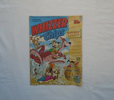Whizzer and Chips Comic 18th March 1989 - Bumpkin Billionaires / Memory Banks /