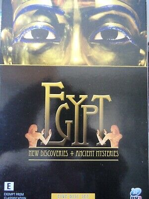 EGYPT - New Discoveries & Ancient Mysteries 5 x DVD Box Set AS NEW!