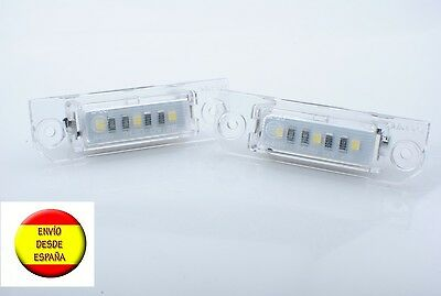 Plafon Led Matricula Vw Golf 5 Plus Caddy Jetta Passat Homologados, Blanco Puro
