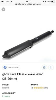 GHD Curve Classic Wave Curler RRP £120