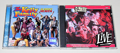 2 Cd Set - The Kelly Family - Almost Heaven & Live - Top Zustand
