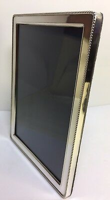 """Carr's Solid Silver Photo Frame 1991 Classic Design 8""""x 6"""" Sheffield"""