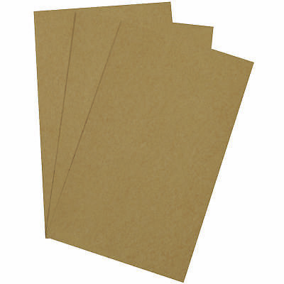 "Box Partners Chipboard Pads 12"" x 24"" Kraft 275/Case CP1224"