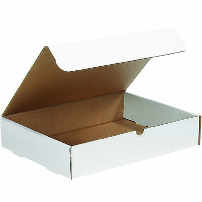 "Box Partners Literature Mailers 15 1/8"" x 11 1/8"" x 3"" White 50/Bundle M15113"