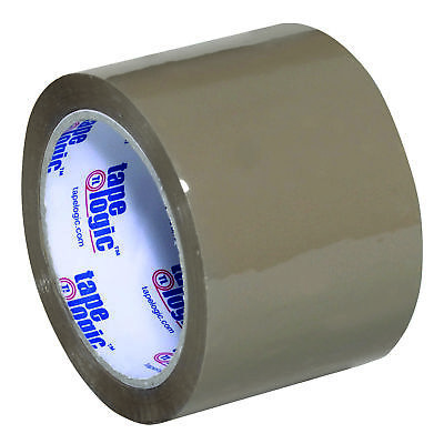 "Tape Logic Acrylic Tape 2.6 Mil 3"" x 110 yds. Tan 24/Case T9052291T"