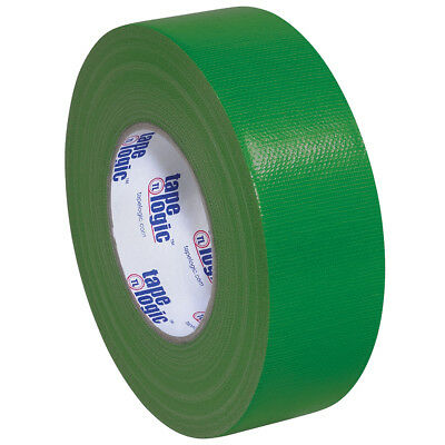 "Tape Logic Duct Tape 10 Mil 2"" x 60 yds. Green 24/Case T987100G"