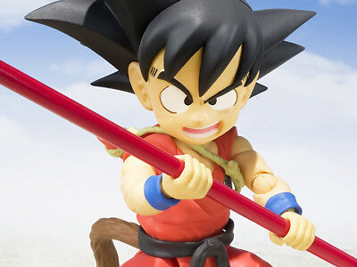 New US Dragon Ball Z S.H.Figuarts Kid Goku Figure Bandai Tamashii Nation Intl